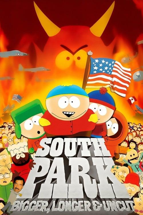 ดูหนังออนไลน์ฟรี South Park: Bigger, Longer & Uncut (1999) เซาธ์พาร์ค เดอะมูฟวี่