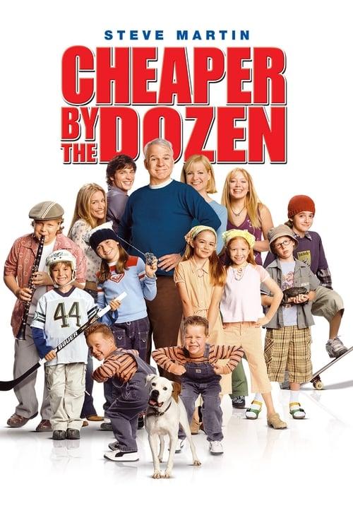 ดูหนังออนไลน์ฟรี Cheaper by the Dozen 1 (2003) ครอบครัวเหมาโหลถูกกว่า ภาค 1