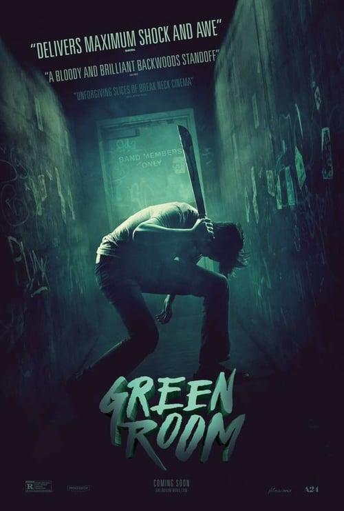 ดูหนังออนไลน์ฟรี Green Room (2016) ล็อค เชือด ร็อก