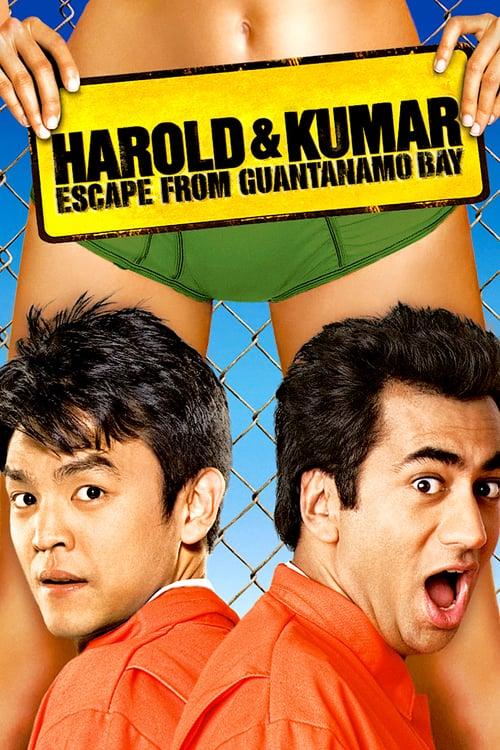 ดูหนังออนไลน์ฟรี Harold & Kumar Escape from Guantanamo Bay (2008) แฮร์โรลด์กับคูมาร์ คู่บ้าแหกคุกป่วน