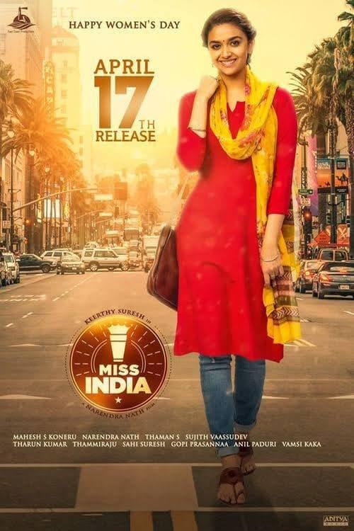 ดูหนังออนไลน์ฟรี Miss India (2020) มิสอินเดีย