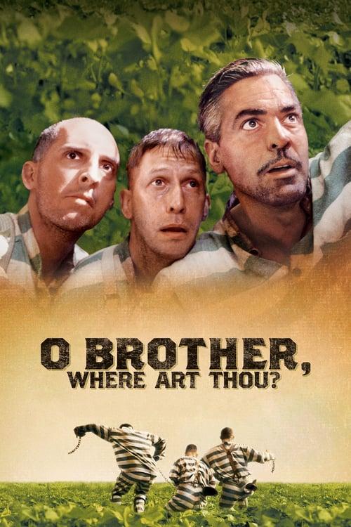 ดูหนังออนไลน์ฟรี O Brother Where Art Thou? (2000) สามเกลอ พกดวงมาโกย