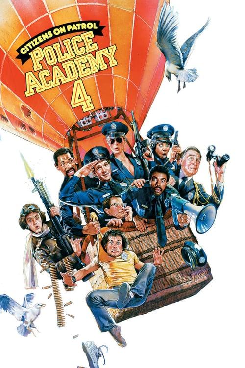 ดูหนังออนไลน์ฟรี Police Academy 4 (1987) โปลิศจิตไม่ว่าง ภาค 4