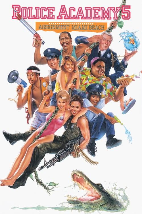 ดูหนังออนไลน์ฟรี Police Academy 5 (1988) โปลิศจิตไม่ว่าง ภาค 5