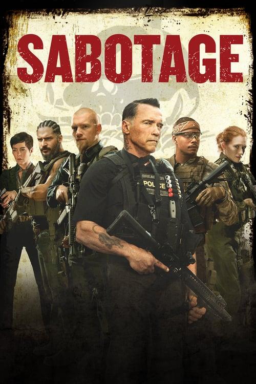 ดูหนังออนไลน์ฟรี SABOTAGE (2014) คนเหล็กล่านรก