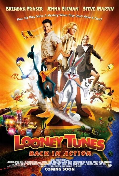 ดูหนังออนไลน์ฟรี Looney Tunes Back in Action (2003) ลูนี่ย์ ทูนส์ รวมพลพรรคผจญภัยสุดโลก