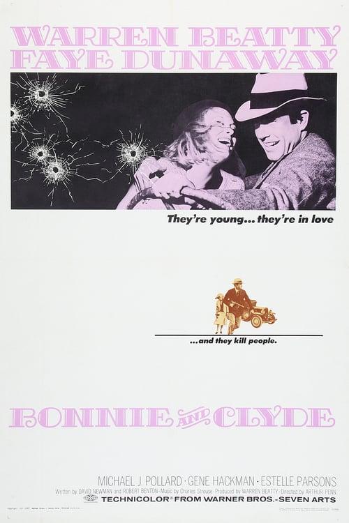 ดูหนังออนไลน์ฟรี Bonnie and Clyde (1967) หนุ่มห้าว สาวเหมี้ยม [ซับไทย]