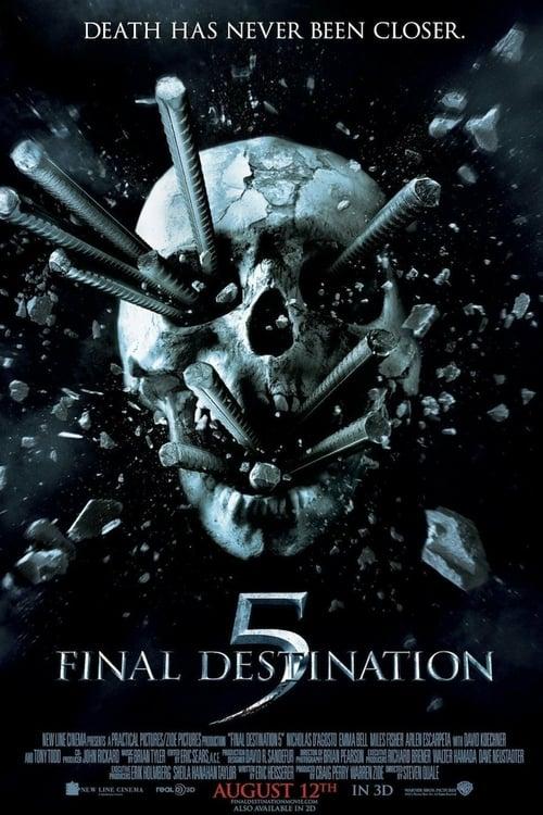 ดูหนังออนไลน์ฟรี Final Destination 5 (2011) ไฟนอล เดสติเนชั่น 5: โกงตายสุดขีด
