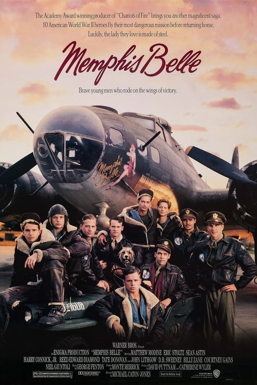 ดูหนังออนไลน์ฟรี Memphis Belle (1990) ป้อมบินเย้ยฟ้า