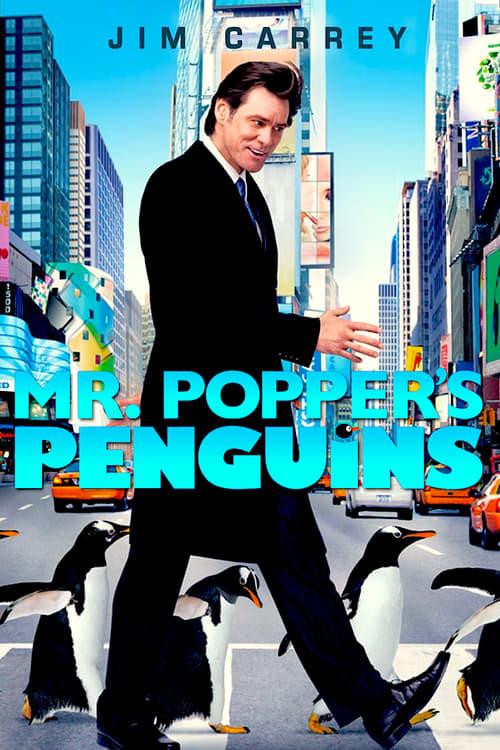 ดูหนังออนไลน์ฟรี Mr. Popper's Penguins (2011) เพนกวินน่าทึ่งของนายพ็อพเพอร์