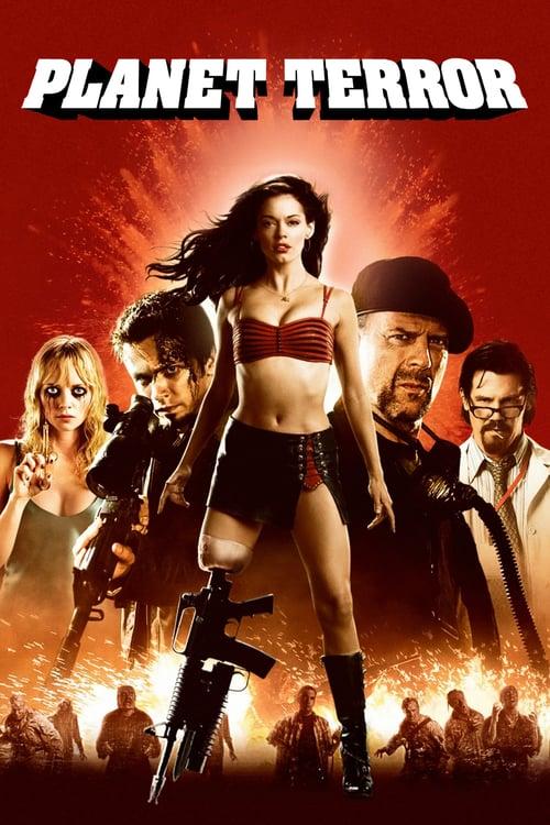 ดูหนังออนไลน์ฟรี Planet Terror (2007) โคโยตี้ แข้งปืนกล