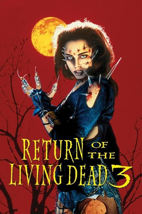ดูหนังออนไลน์ฟรี Return of the Living Dead 3 (1993) ผีลืมหลุม 3