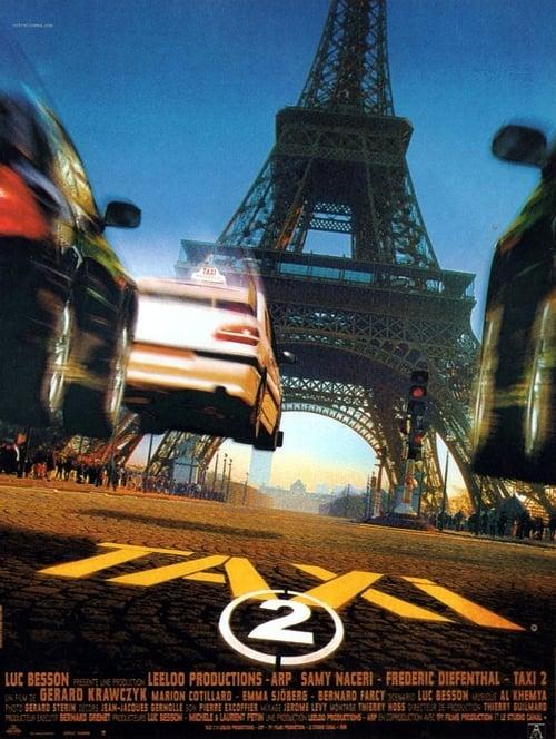 ดูหนังออนไลน์ฟรี TAXI 2 (2000) แท็กซี่ขับระเบิด 2