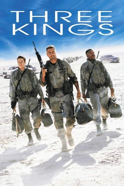 ดูหนังออนไลน์ฟรี Three Kings (1999) ฉกขุมทรัพย์ มหาภัยขุมทอง