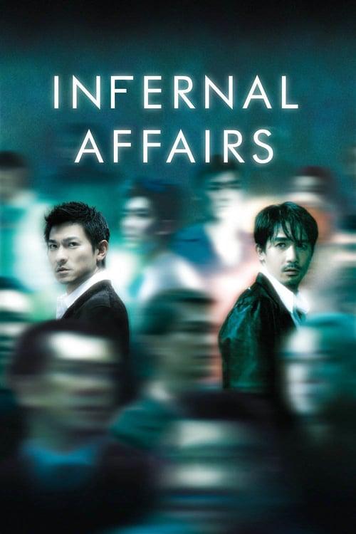 ดูหนังออนไลน์ฟรี Infernal Affairs (2002) สองคนสองคม
