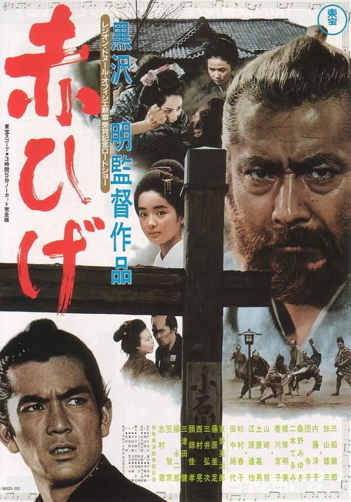 ดูหนังออนไลน์ฟรี Red Beard (1965) ไอ้เคราแดง