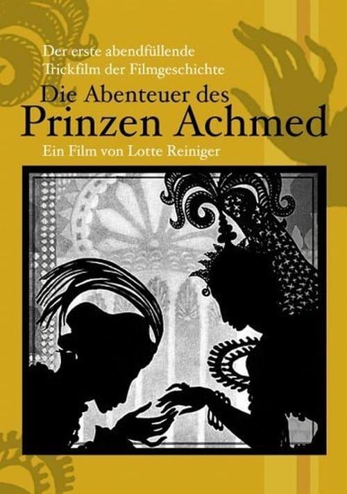 ดูหนังออนไลน์ฟรี The Adventures of Prince Achmed (1926)