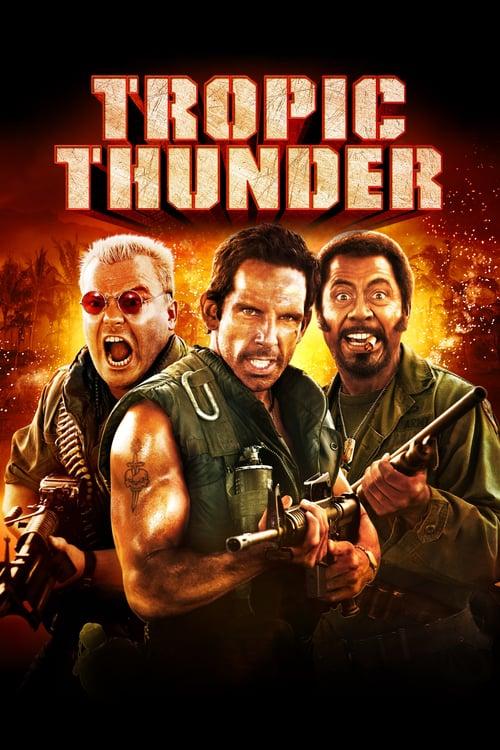 ดูหนังออนไลน์ฟรี Tropic Thunder (2008) ดาราประจัญบาน ท.ทหารจำเป็น