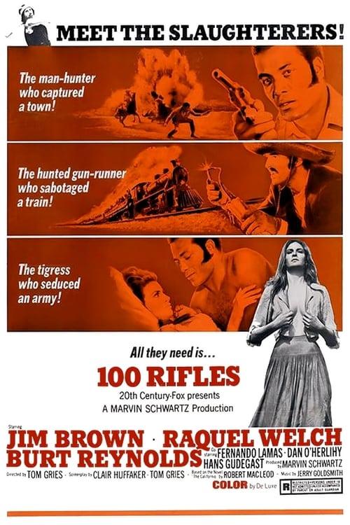 ดูหนังออนไลน์ฟรี 100 Rifles (1969) ศึกเม็กซิกัน