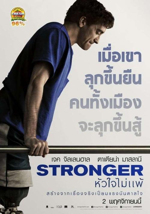 ดูหนังออนไลน์ฟรี Stronger (2017) หัวใจไม่แพ้