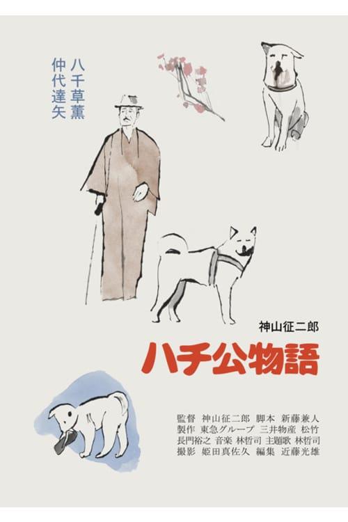 ดูหนังออนไลน์ฟรี Hachi-ko (1987)