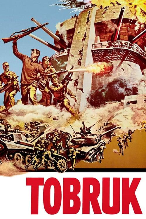 ดูหนังออนไลน์ฟรี TOBRUK (1967) ป้อมปืนโทบรู๊ค
