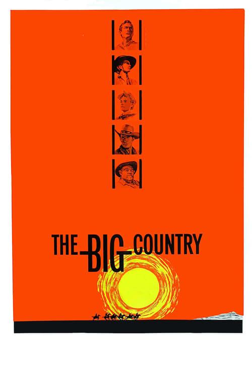 ดูหนังออนไลน์ฟรี The Big Country (1958) สองสิงห์จ้าวปฐพี