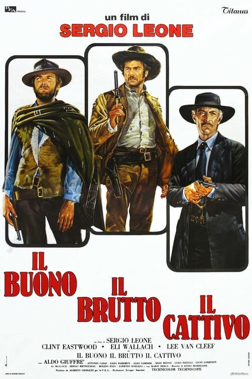 ดูหนังออนไลน์ฟรี The Good the Bad and the Ugly (1966) มือปืนเพชรตัดเพชร