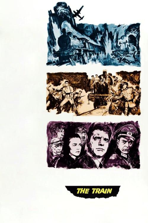 ดูหนังออนไลน์ฟรี The Train (1964) เพชรฆาตม้าเหล็ก