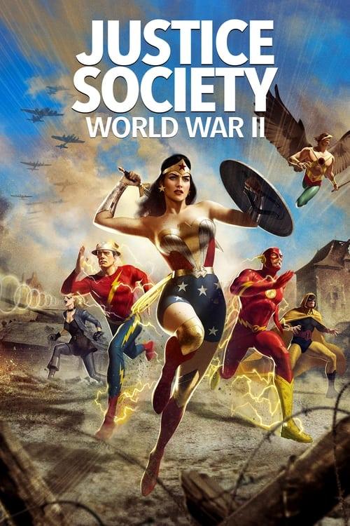 ดูหนังออนไลน์ฟรี Justice Society World War II (2021)