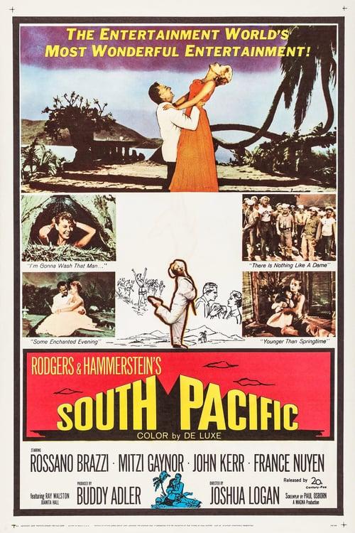 ดูหนังออนไลน์ฟรี South Pacific (1958) มนต์รักทะเลใต้