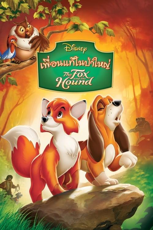 ดูหนังออนไลน์ฟรี The Fox and the Hound (1981) เพื่อนแท้ในป่าใหญ่
