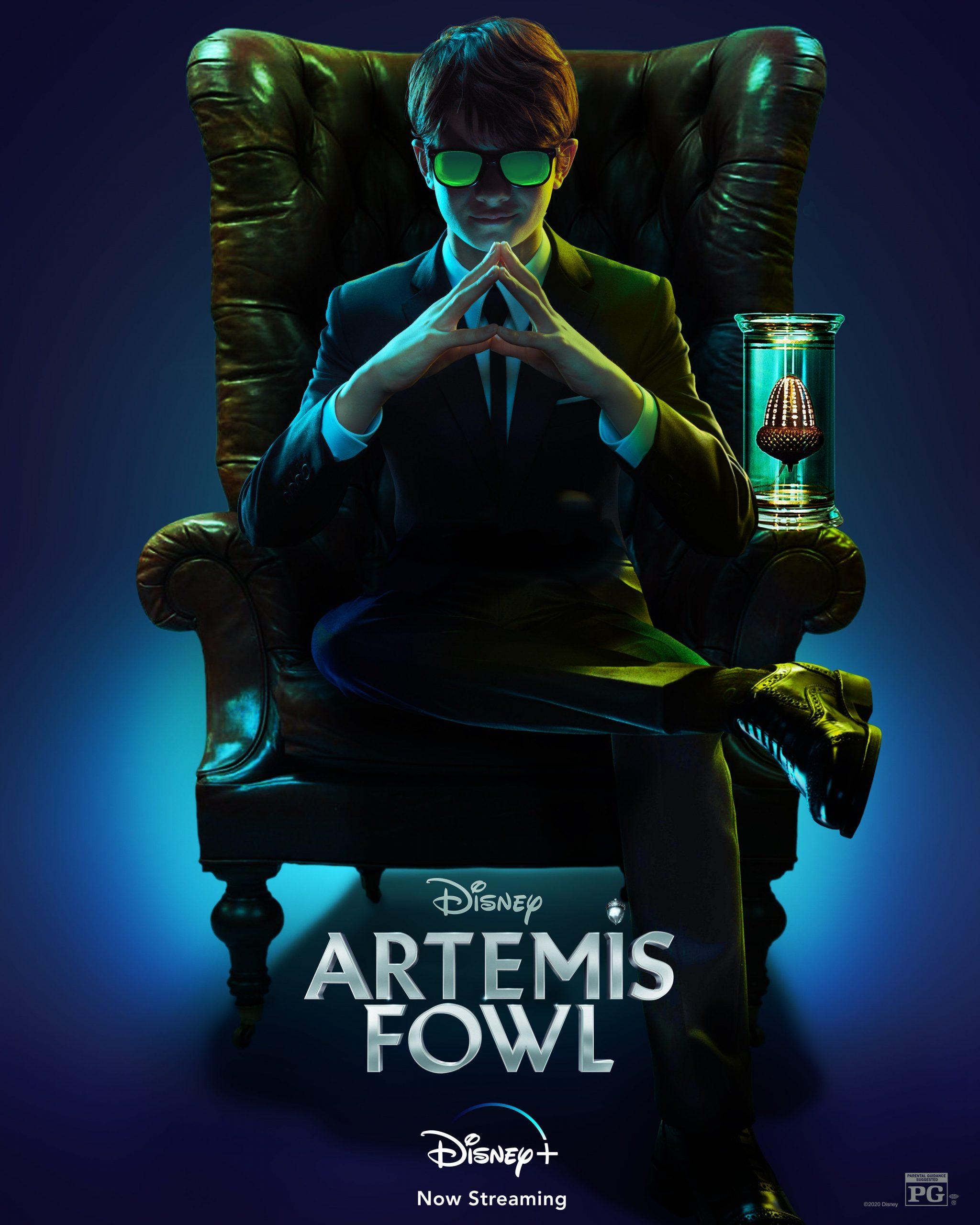 ดูหนังออนไลน์ฟรี Artemis Fowl (2020) ผจญภัยสายลับใต้พิภพ