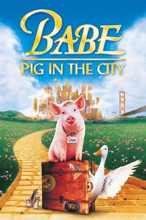 ดูหนังออนไลน์ฟรี Babe Pig in the City (1998) เบ๊บ หมูน้อยหัวใจเทวดา ภาค 2
