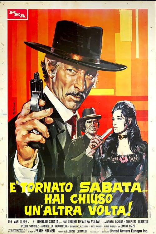 ดูหนังออนไลน์ฟรี Return of Sabata (1971) ซาบาต้า ปืนมหัศจรรย์