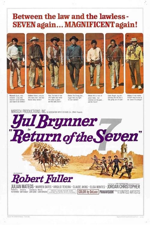ดูหนังออนไลน์ฟรี Return of the Seven (1966) เจ็ดสิงห์แดนเสือ ภาค 2