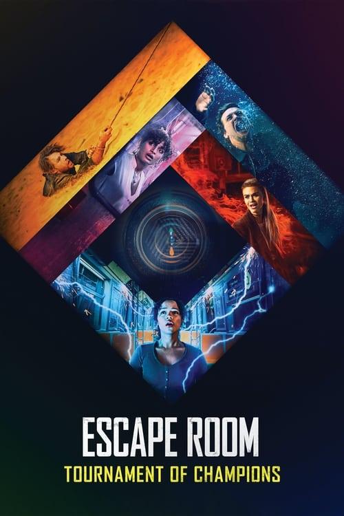 ดูหนังออนไลน์ฟรี Escape Room Tournament Of Champions (2021) กักห้อง เกมโหด 2